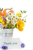 Bouquet of summer wildflowers — Stock Photo