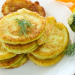 Squash fritters — Stock Photo #11498420