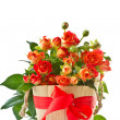 Bouquet of red roses — Stock Photo #11895336