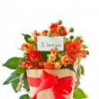 Bouquet of red roses — Stock Photo #11895528