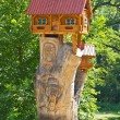 Stock Photo: Small wooden house