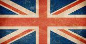 Drapeau britannique grunge — Photo