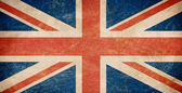 Grunge British flag — Foto Stock