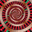 Roulette spiralling down — Stock Photo