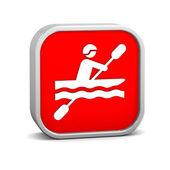 Kayak sign — Stock Photo