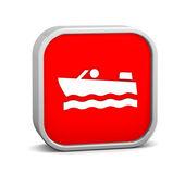 モーター ボートの記号 — ストック写真