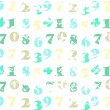 Abstract vintage background with numbers — Stock Photo #11508091