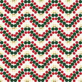 Vintage paper with snowflake pattern — Stock Photo
