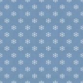 Papel vintage com padrão de floco de neve — Foto Stock