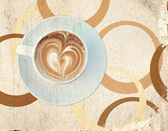 Brown textured stylized vintage background — Photo
