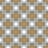 Vackert symmetriska mönster — Stockfoto