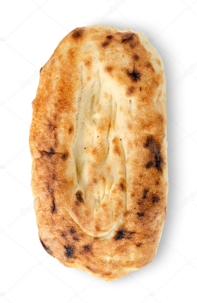 Pita bread isolated on a white background — Stock Photo #12145621
