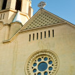 Catholic church facade — Stock Photo #11448135