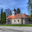 Small Christian church - Stock Photo