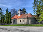 Small Christian church — Stock Photo