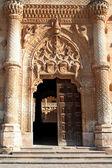 Gates of palace in Guadalajara — Stock Photo