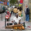 Musician street — Stock Photo