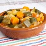 Stuffed vegetables — Stock Photo