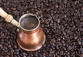 Skummande kaffe — Stockfoto