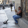 Jazz in the street of Madrid — Stock Photo