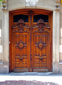 Old spanish door — Stock Photo