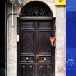 Old spanish door — Stock Photo