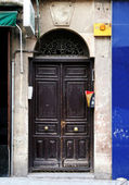 Eski i̇spanyol kapı — Stok fotoğraf