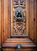 дверь старые испанские единицы — Стоковое фото