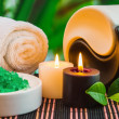 Tools and accessories for spa treatments - Stock Photo