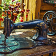 Antique sewing machine — Stock Photo #11391933