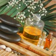 Still-life subjects of relaxing spa - Stock Photo