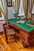 интерьер старого шкафа — Стоковое фото