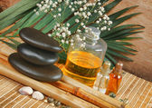 Still-life subjects of relaxing spa — Foto de Stock