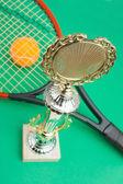 Vítězné tenisové turnaje — Stock fotografie