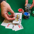 Items from the casino - Stockfoto