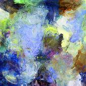 Malarstwo mieszana — Zdjęcie stockowe