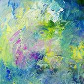 абстрактный импасто масляные краски — Стоковое фото