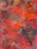 Oil paint glazes and acrylics on hardboard — Stock Photo