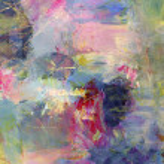 analogico dipinto sullo sfondo, texture aggiunto digitalmente — Foto Stock