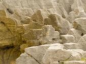 Background of Pancake Rocks of Punakaiki, NZ — Stock Photo