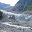 Fox Glacier, South Island, New Zealand — Stock Photo