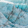Blue glacier ice background texture pattern — Stok fotoğraf