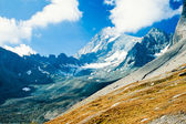 Snowy mountain of Grossglockner in Austria Europe — Stock Photo