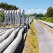 Pipeline installation for distribution and supply — Stock Photo #11801571