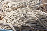 Kupie noszone konopi liny tekstura tło wzór. — Zdjęcie stockowe
