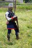 Teutonic knight — Stock Photo