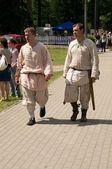 Erkekler ortaçağ giysileri — Stok fotoğraf