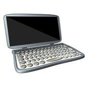 老风格的电脑 — 图库照片