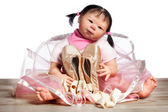 Muñeca bailarina — Foto de Stock