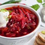 Borsch Soup — Stock Photo